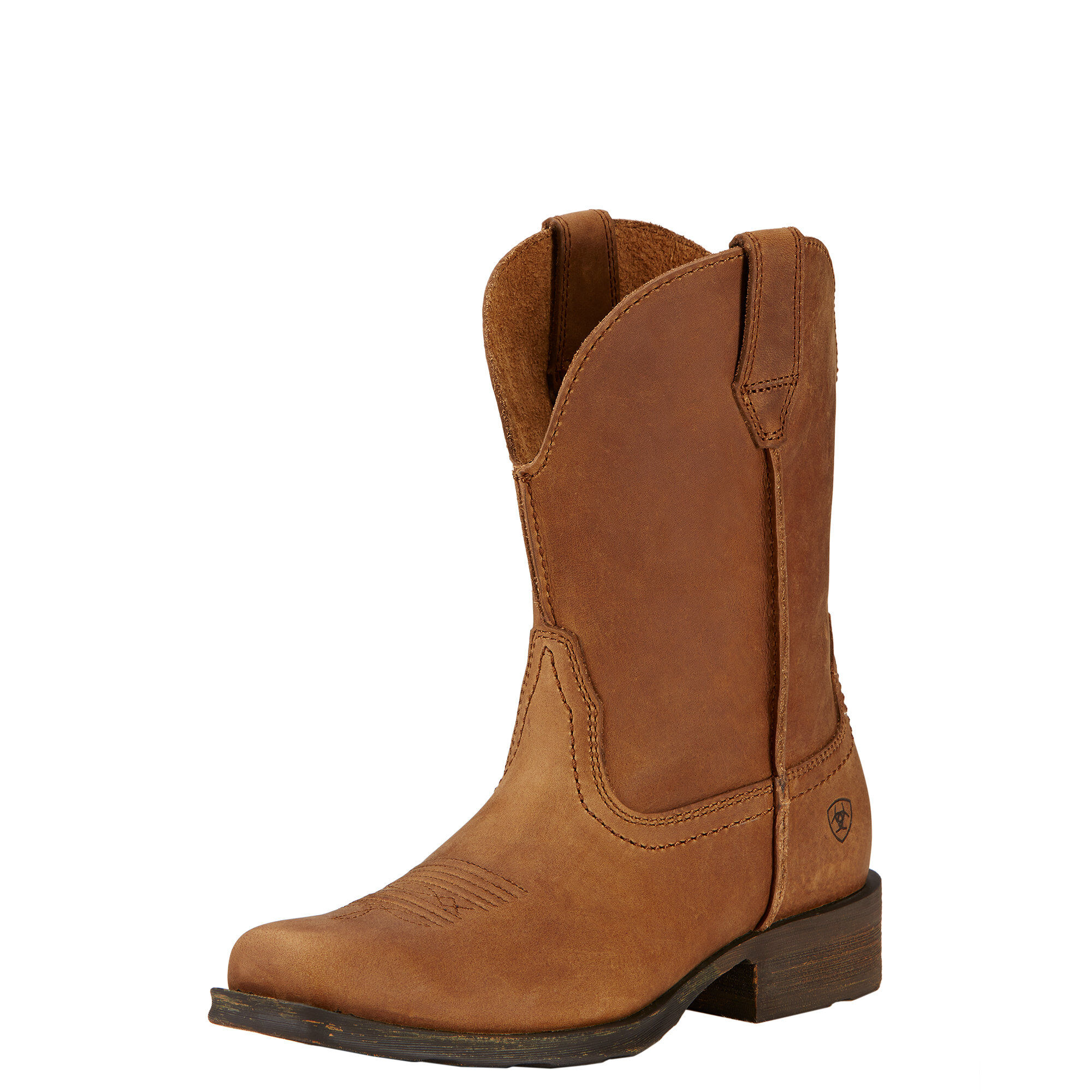 Women's Rambler Western Boots in Dusted Brown Leather by Ariat