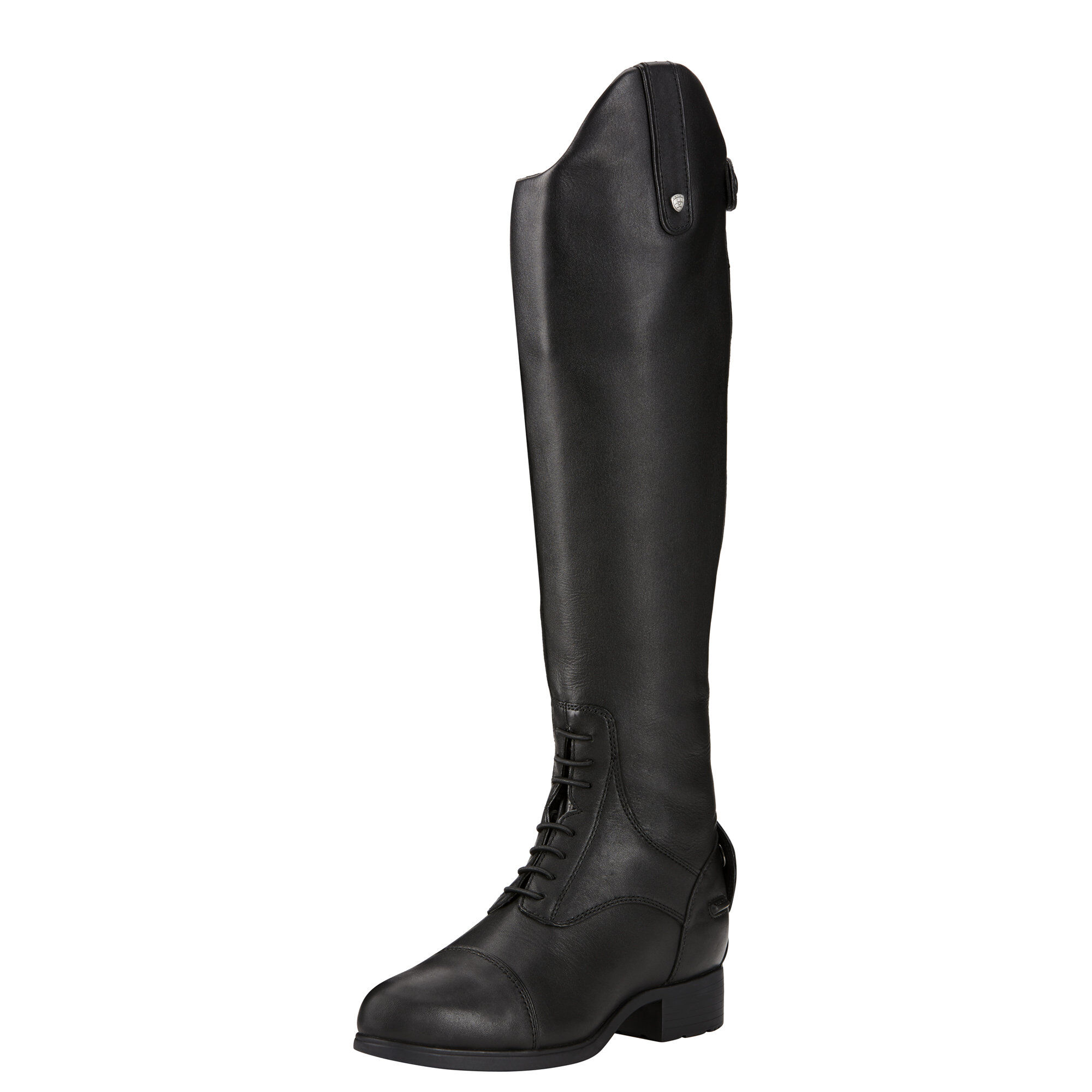 Women's Bromont Pro Tall Waterproof Insulated Tall Riding Boots in Black by Ariat