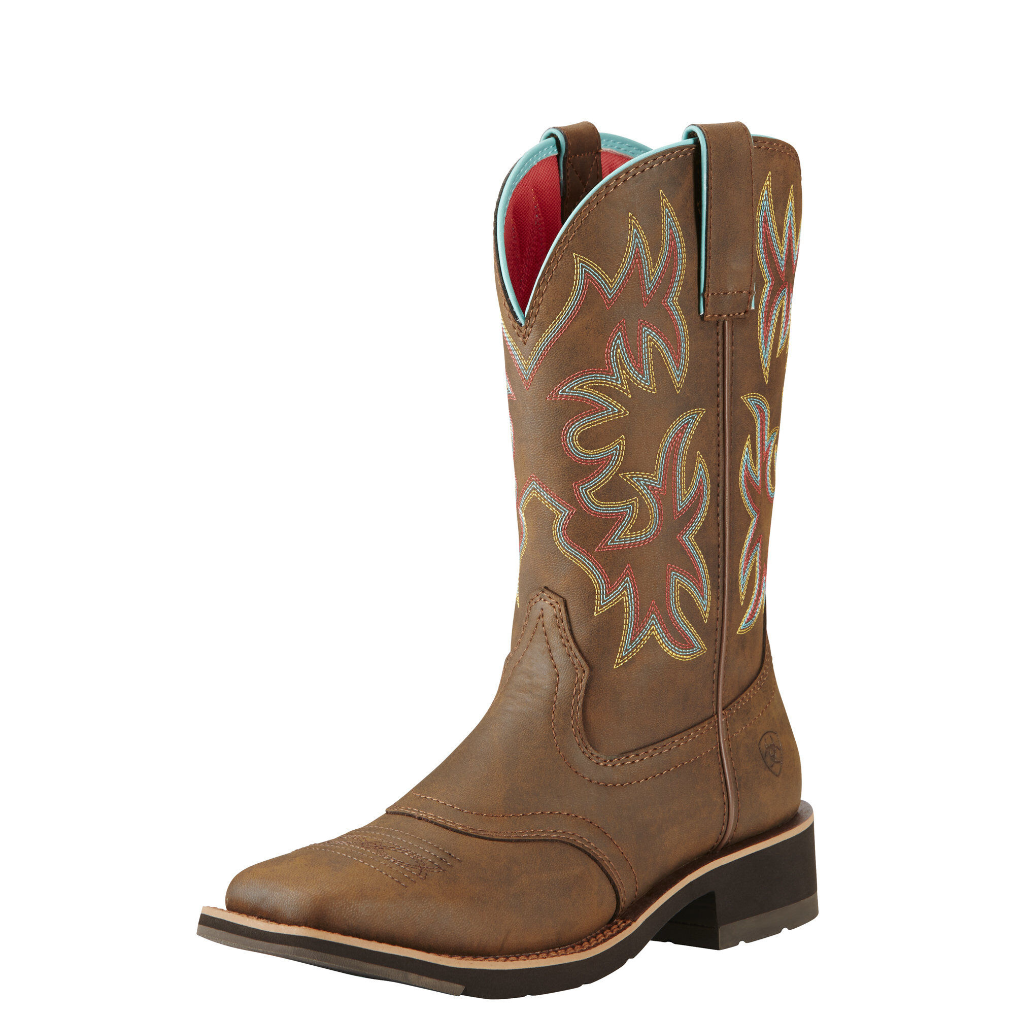 Women's Delilah Western Boots in Toasted Brown by Ariat
