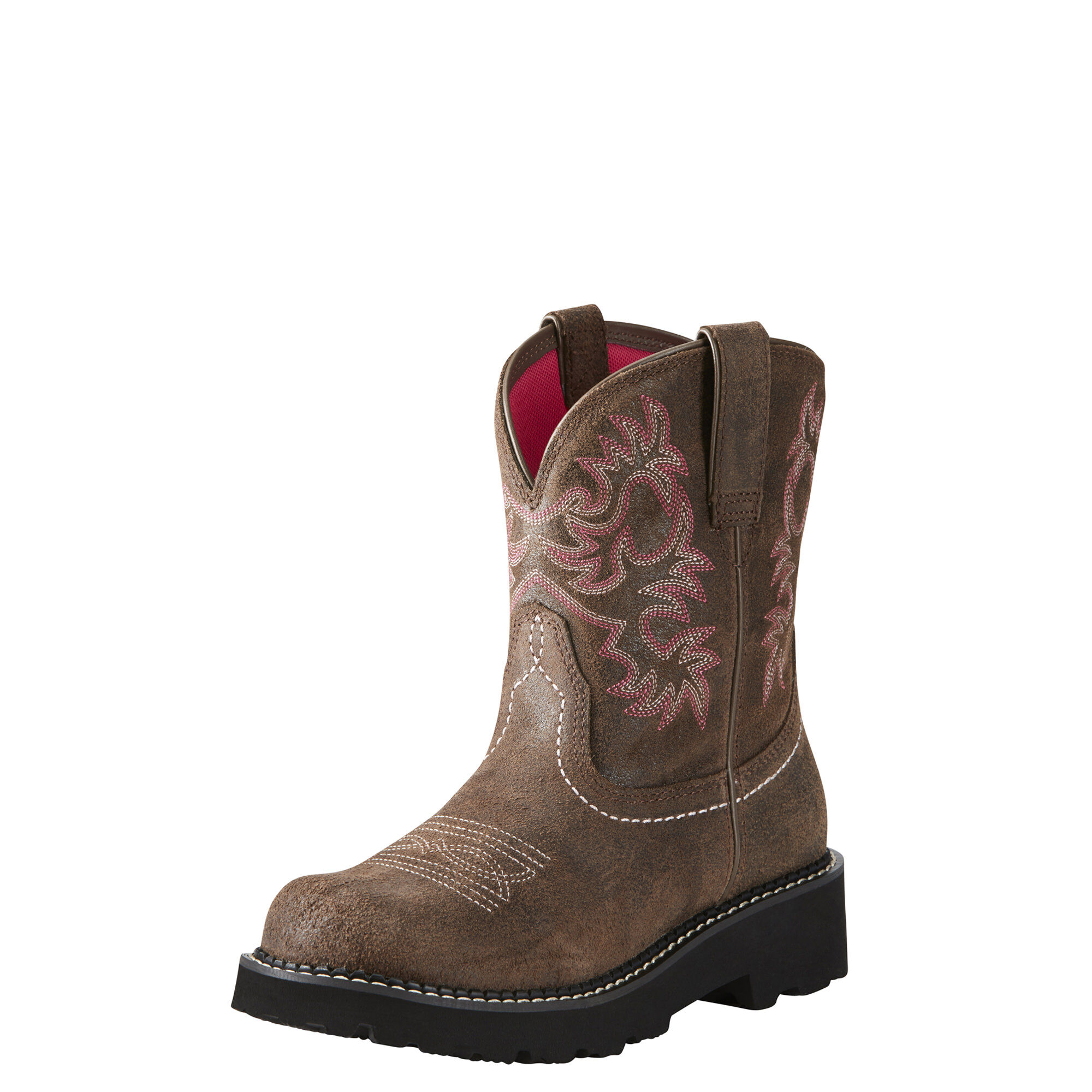 Women's Fatbaby Western Boots in Dark Barley Leather by Ariat