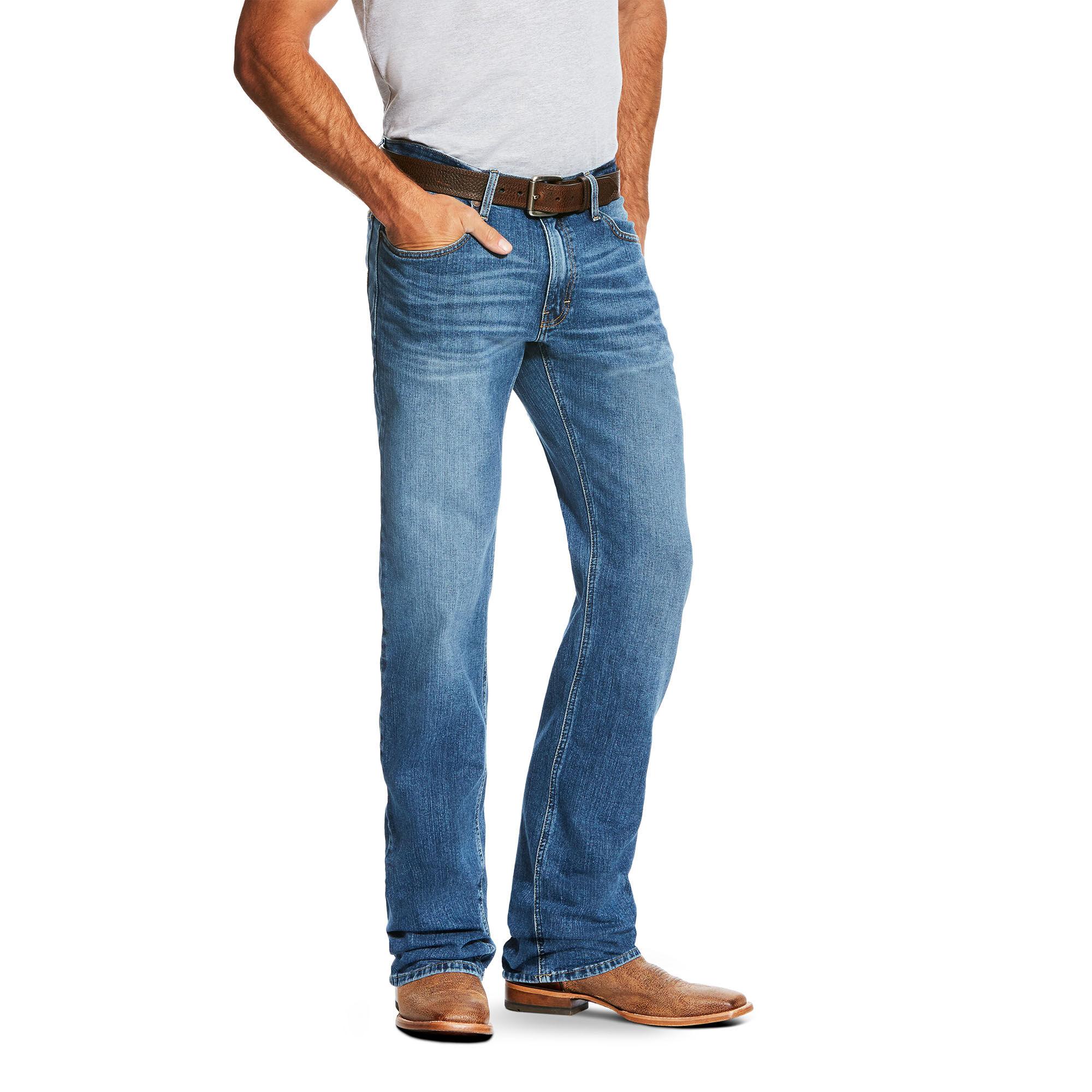 Ariat Men/'s M2 Relaxed Boot Cut Performance Pants size W 31 L 32 Khaki Stone