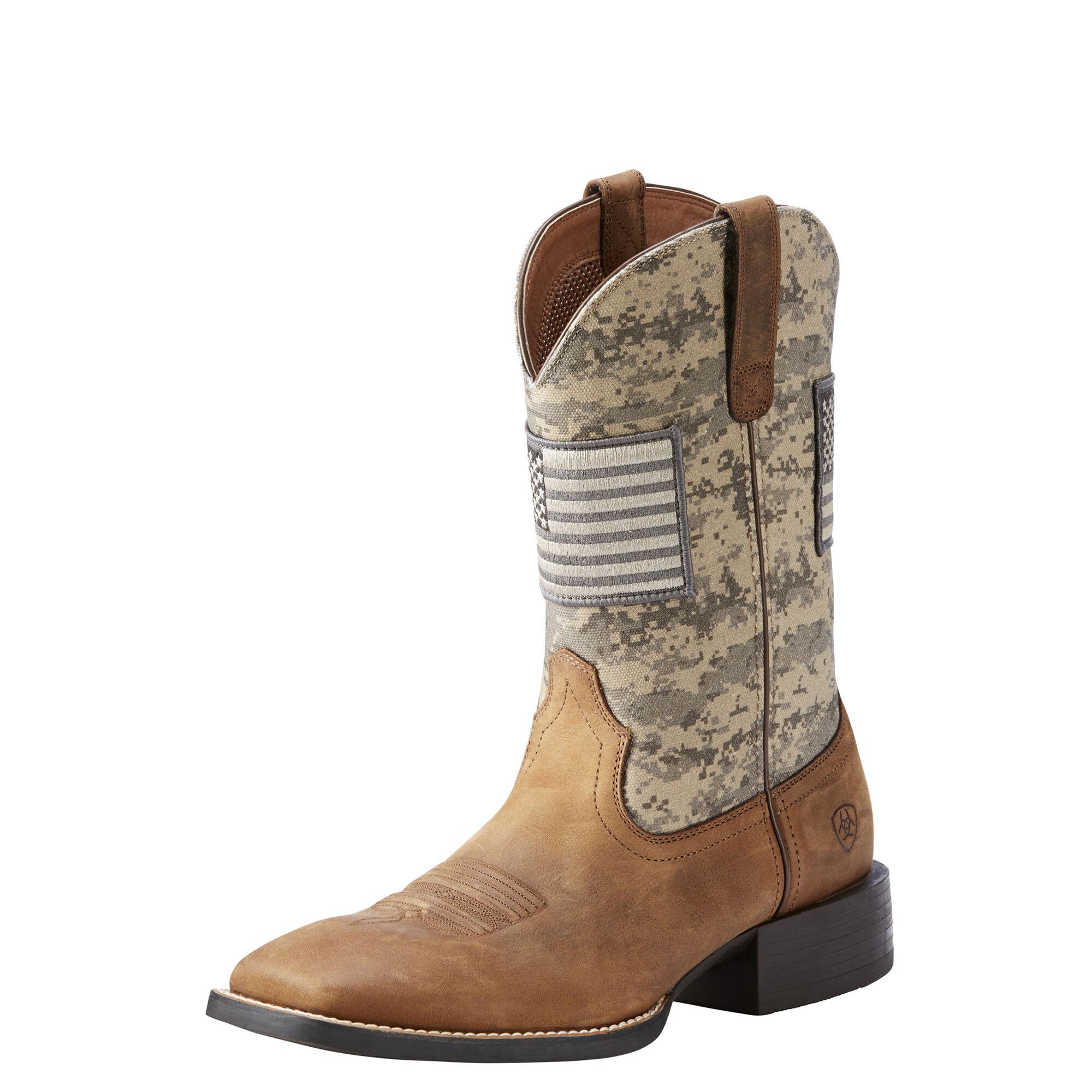 Ariat Camo Boots Mens
