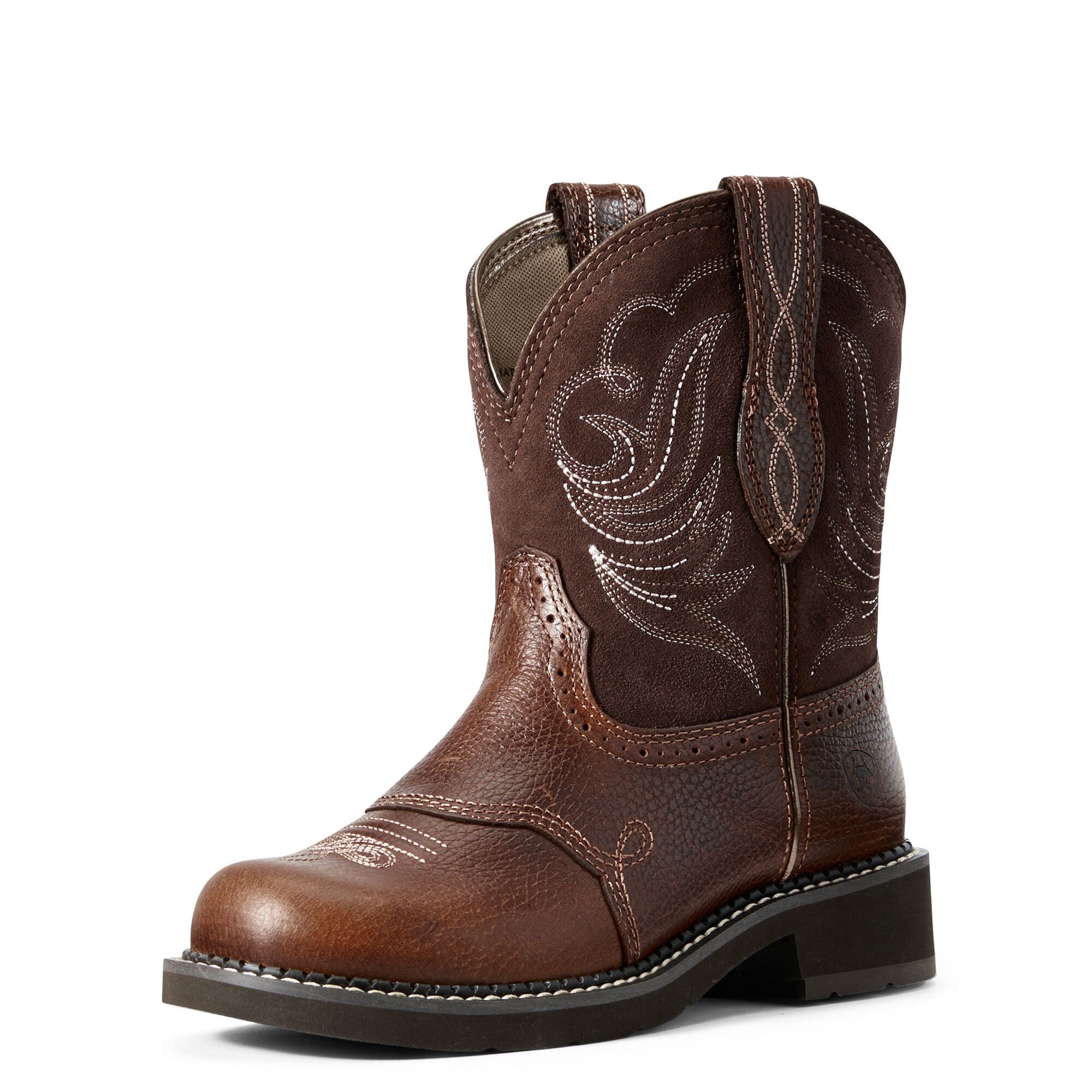Women's Fatbaby Heritage Dapper Western Boots in Copper Kettle by Ariat