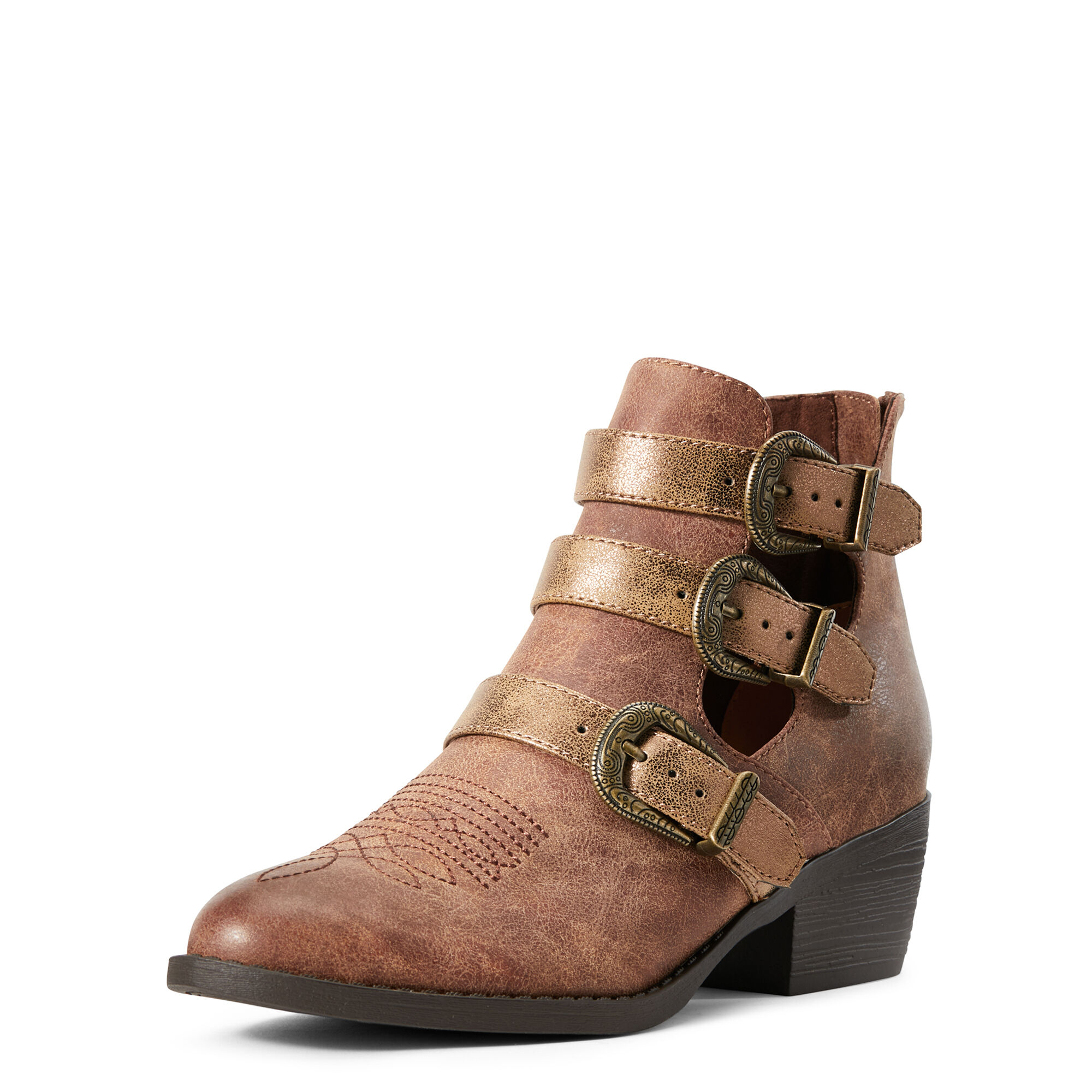 Ariat Unbridled Melody Boots in Distressed Tan