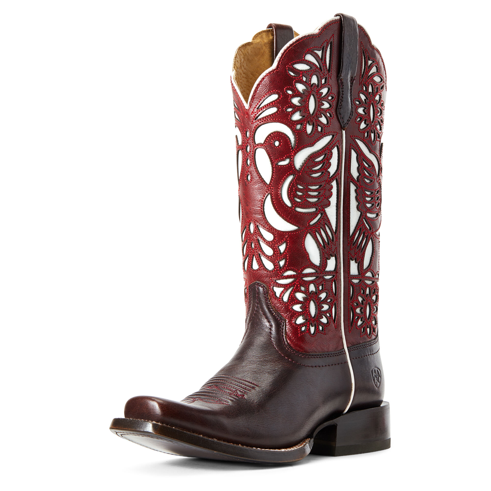 Women's Dorinda Western Boots in Deep Mahogany by Ariat