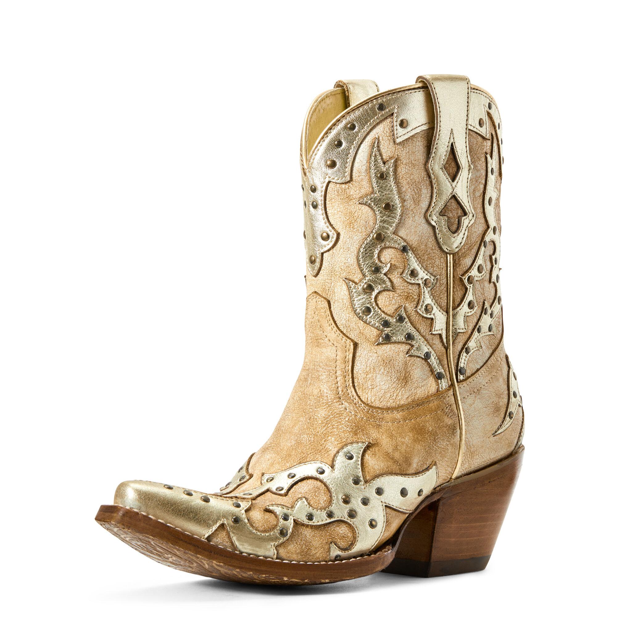 Ariat Women's Sapphire Western Boots in Warm Stone