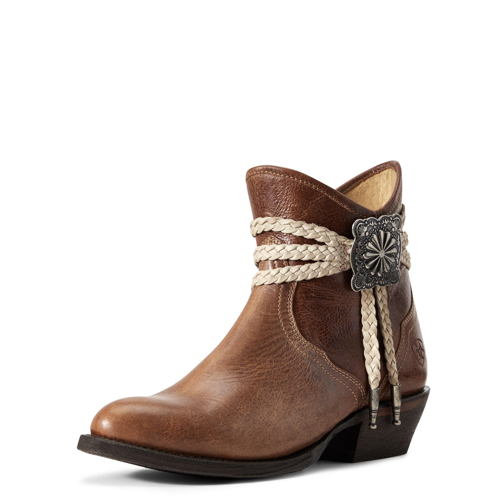Women's Circuit Sage Western Boots in Dark Tan by Ariat