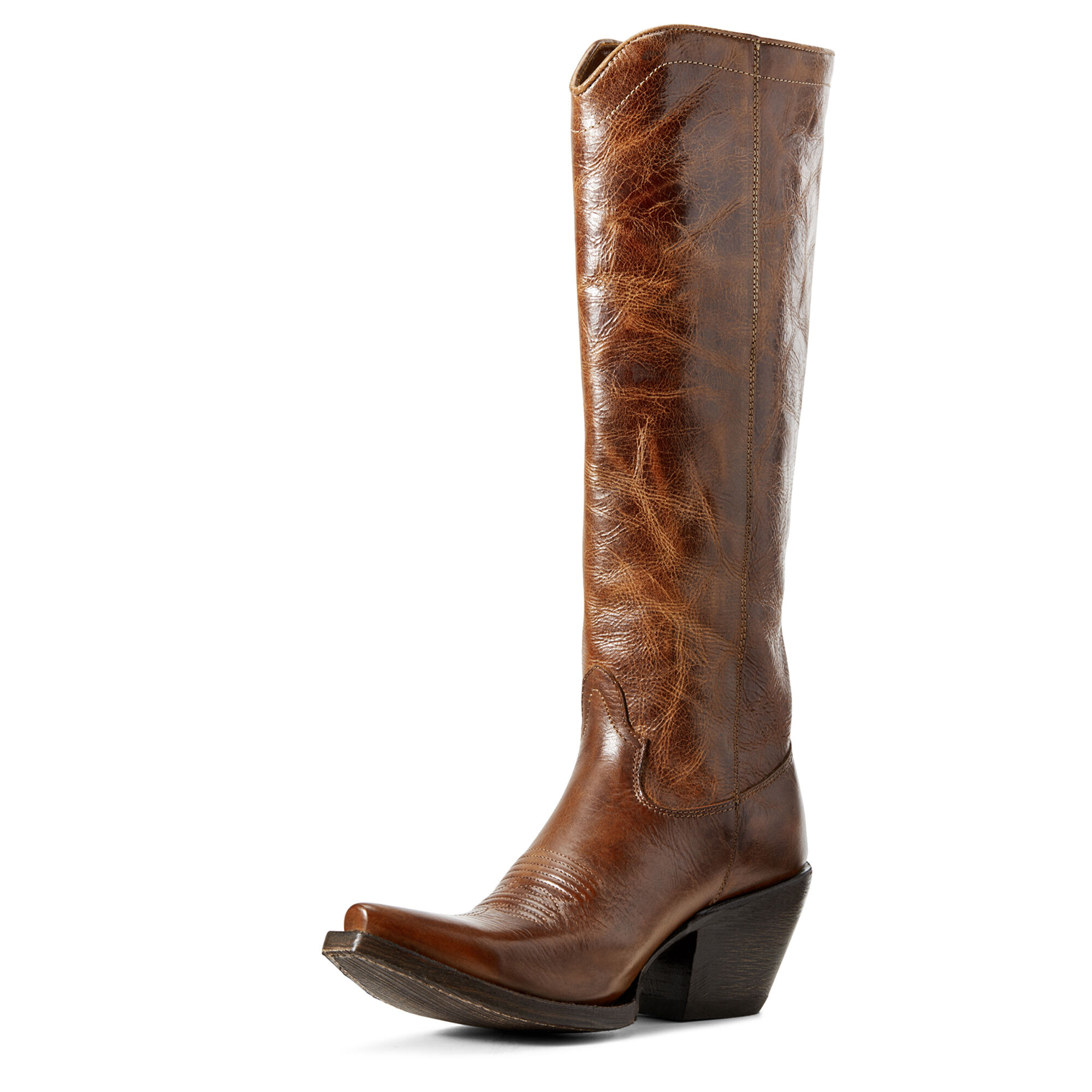 Women's Giselle Western Boots in Dark Tan by Ariat