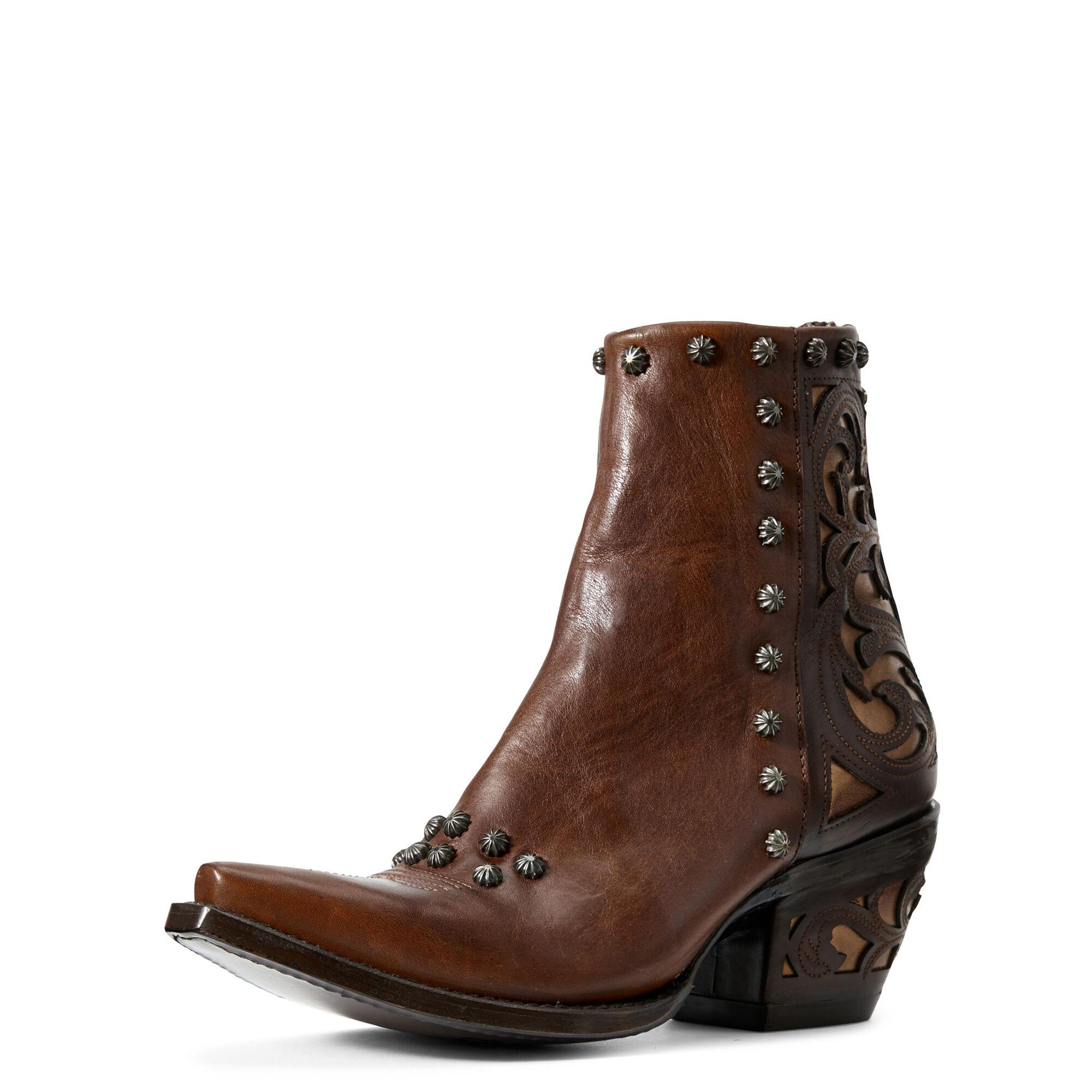 Ariat Diva Western Boots in Warm Cognac