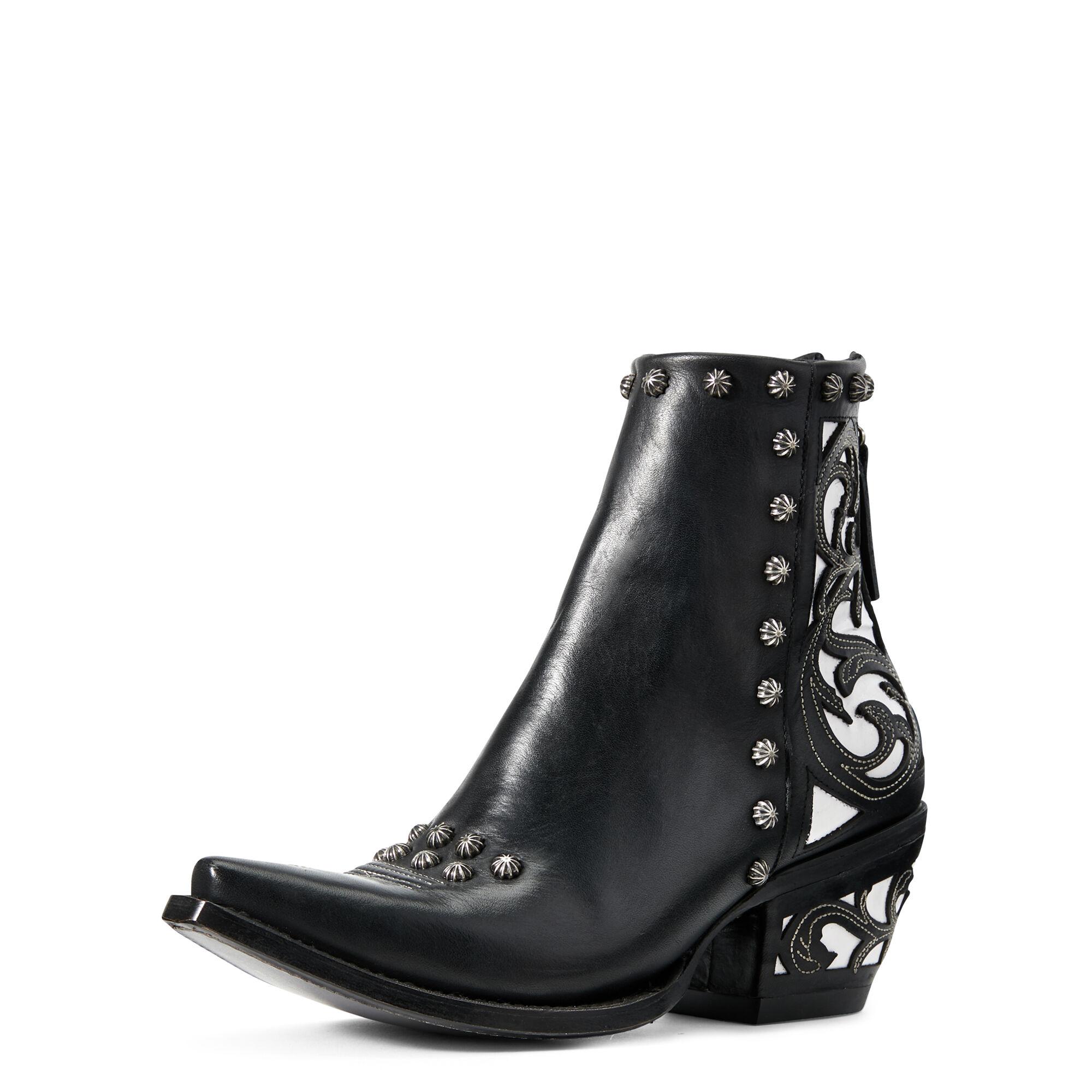 Ariat Diva Western Boots in Midnight Black