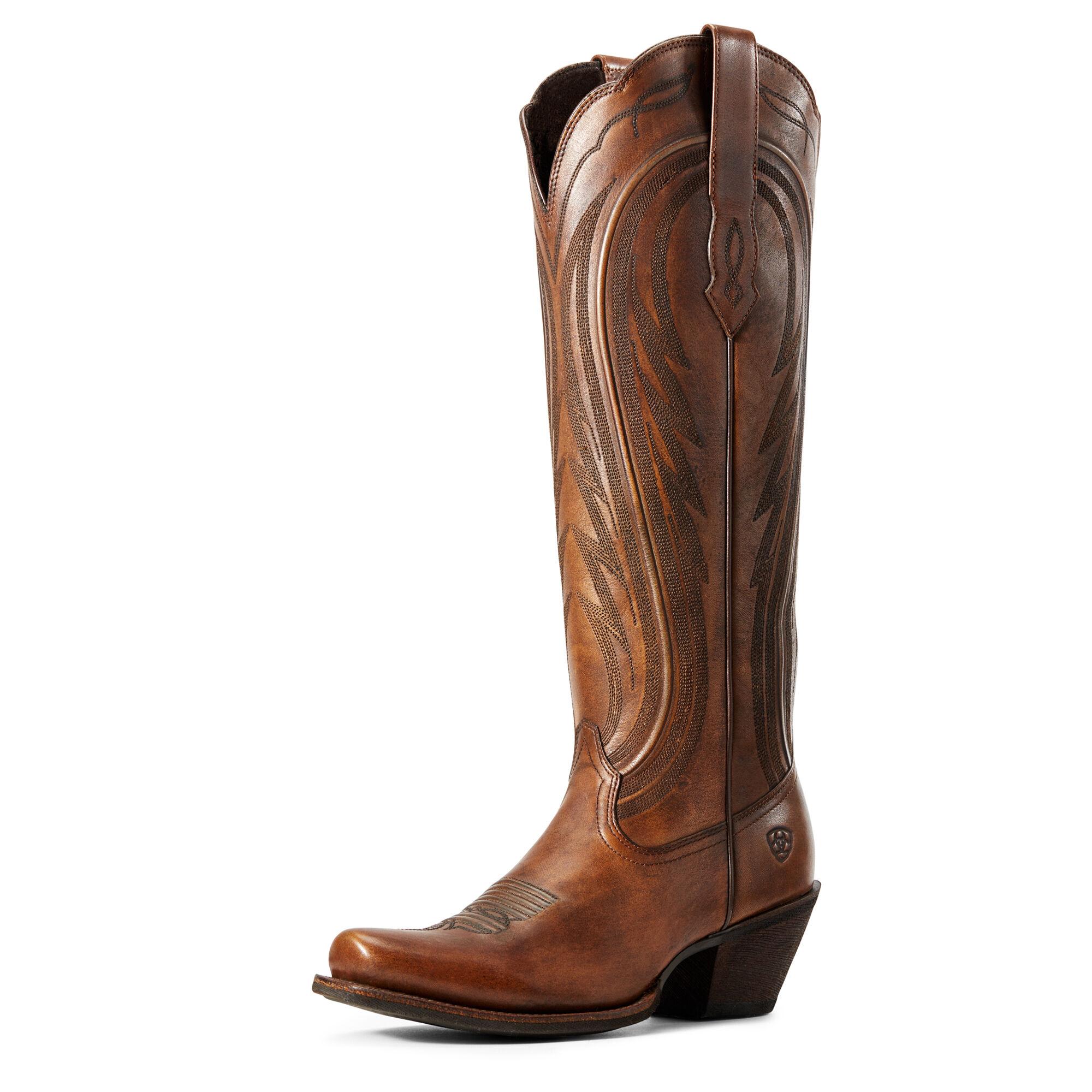 Ariat Women's Abilene Western Boots in Copper Brown