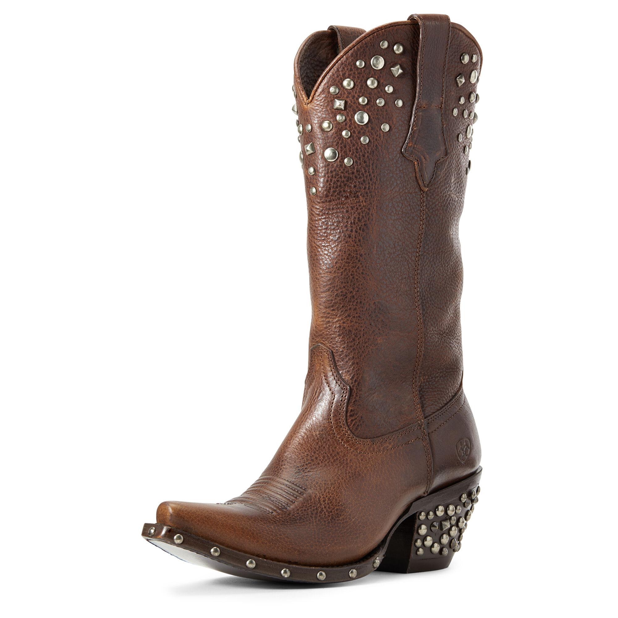 Women's Calypso Western Boots in Pebbled Walnut by Ariat