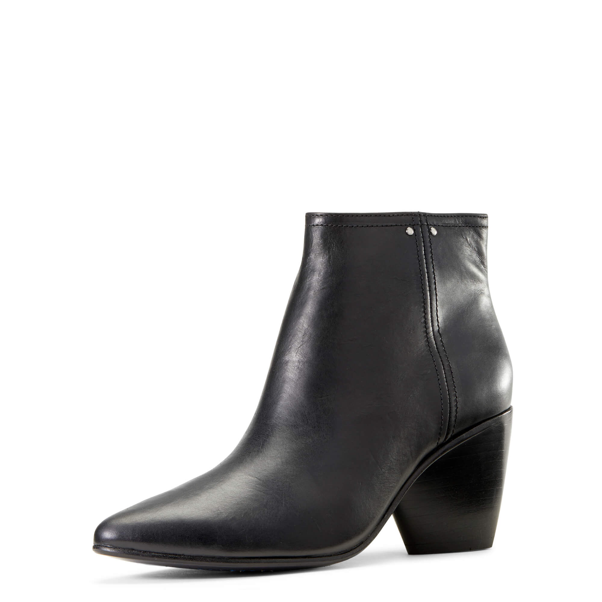 Women's Laney Boots in Black Leather by Ariat Two24