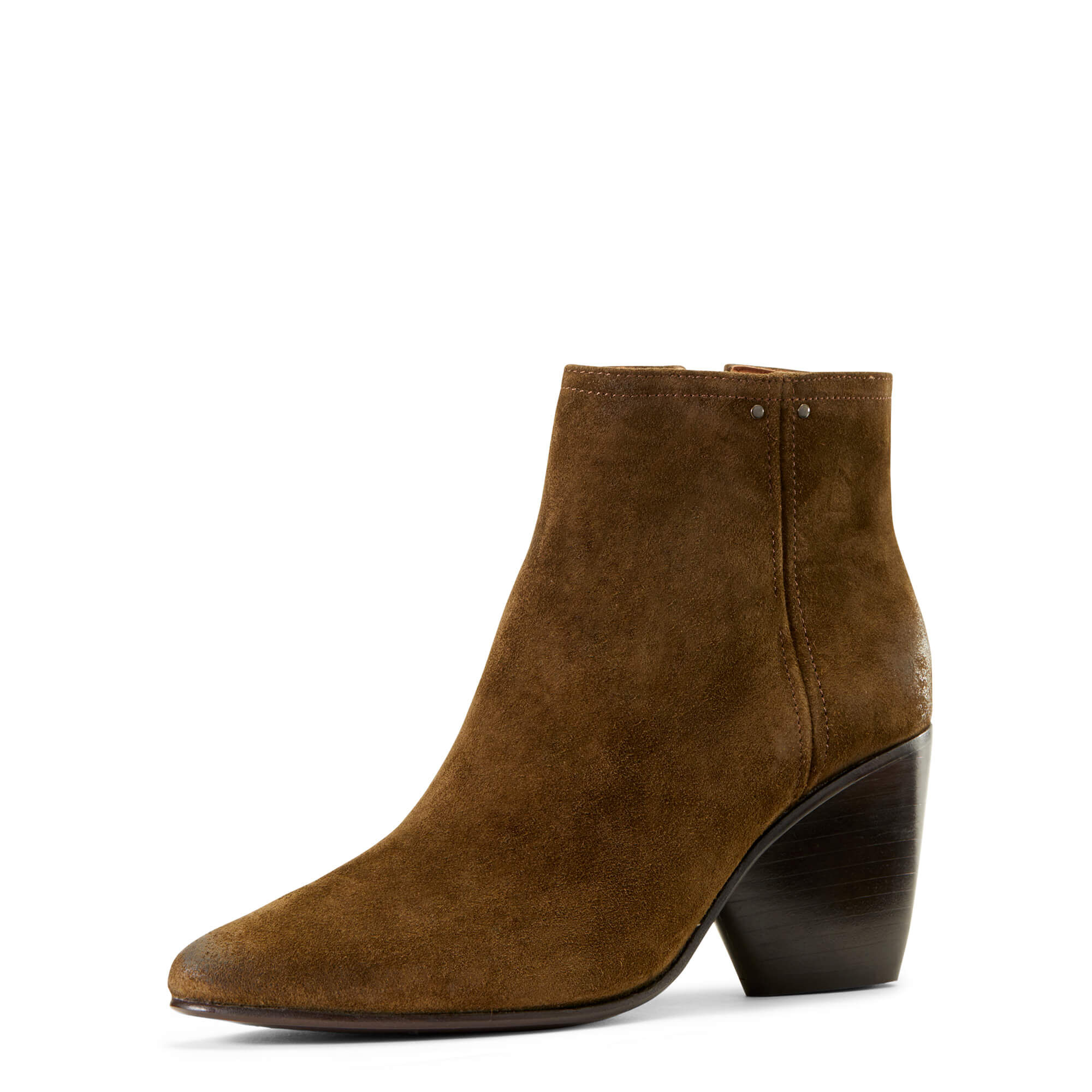 Women's Laney Boots in Olive Suede Leather by Ariat Two24