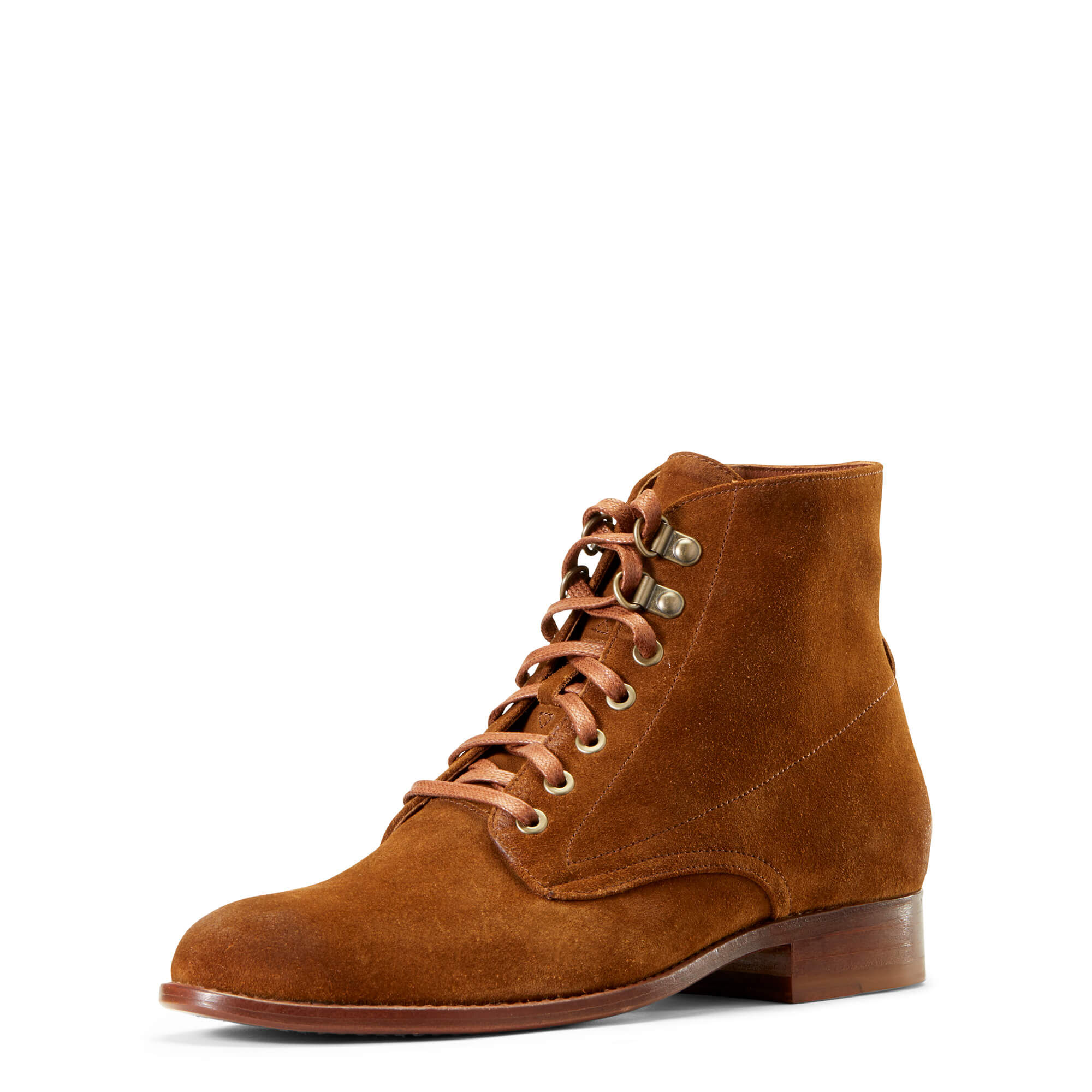 Women's Bancroft Ankle Boots in Saddle Suede Leather by Ariat Two24