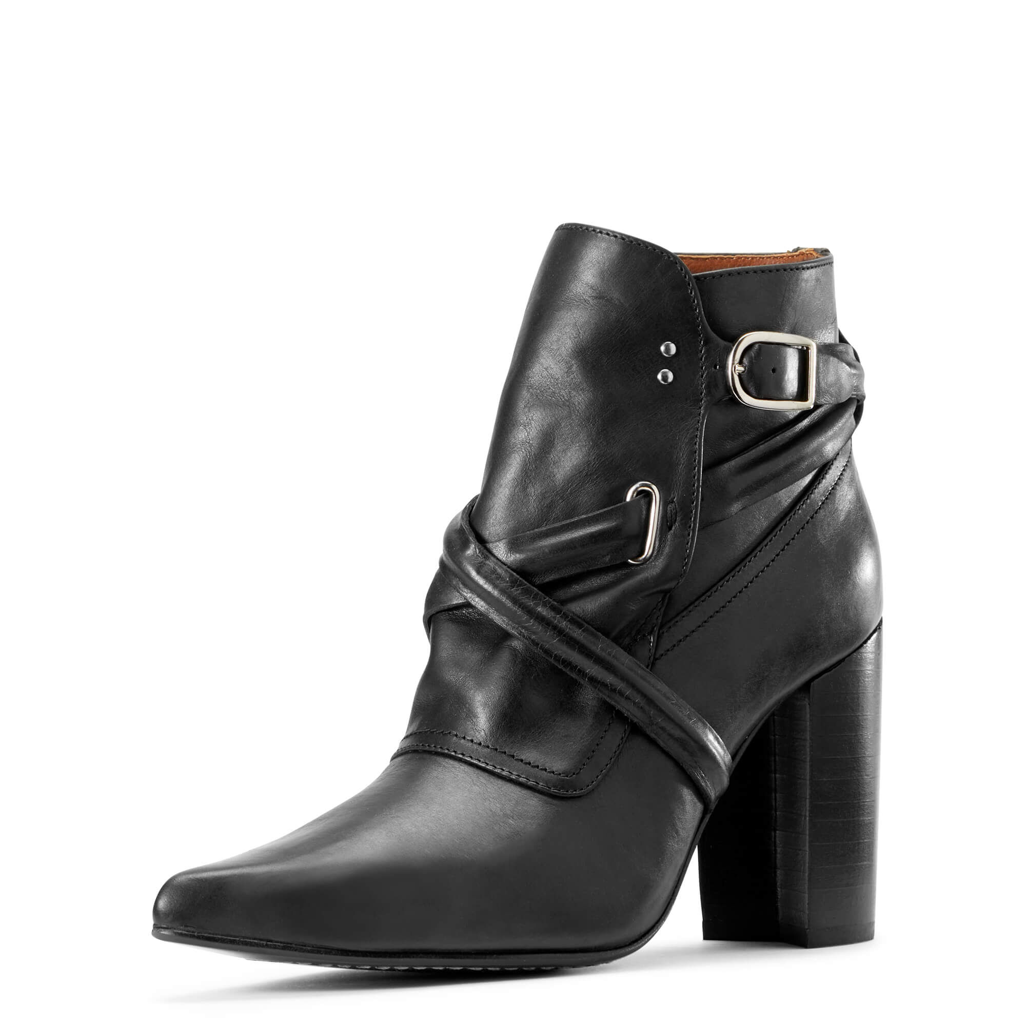 Women's Dimond Boots in Black Leather by Ariat Two24