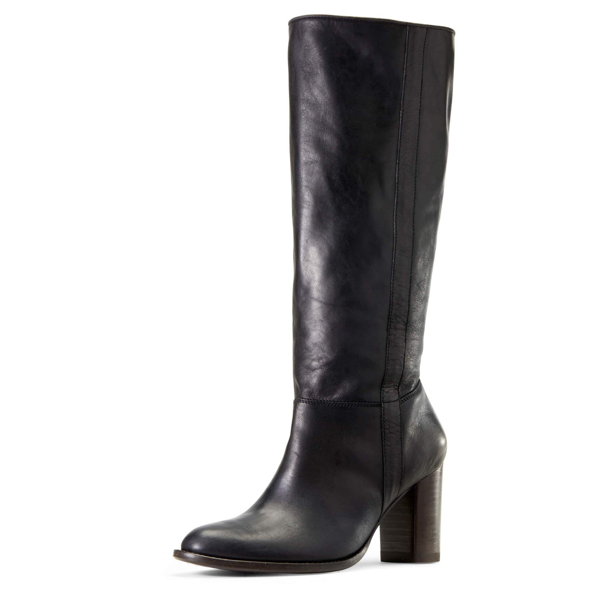 Women's Bella Boots in Black Leather by Ariat Two24