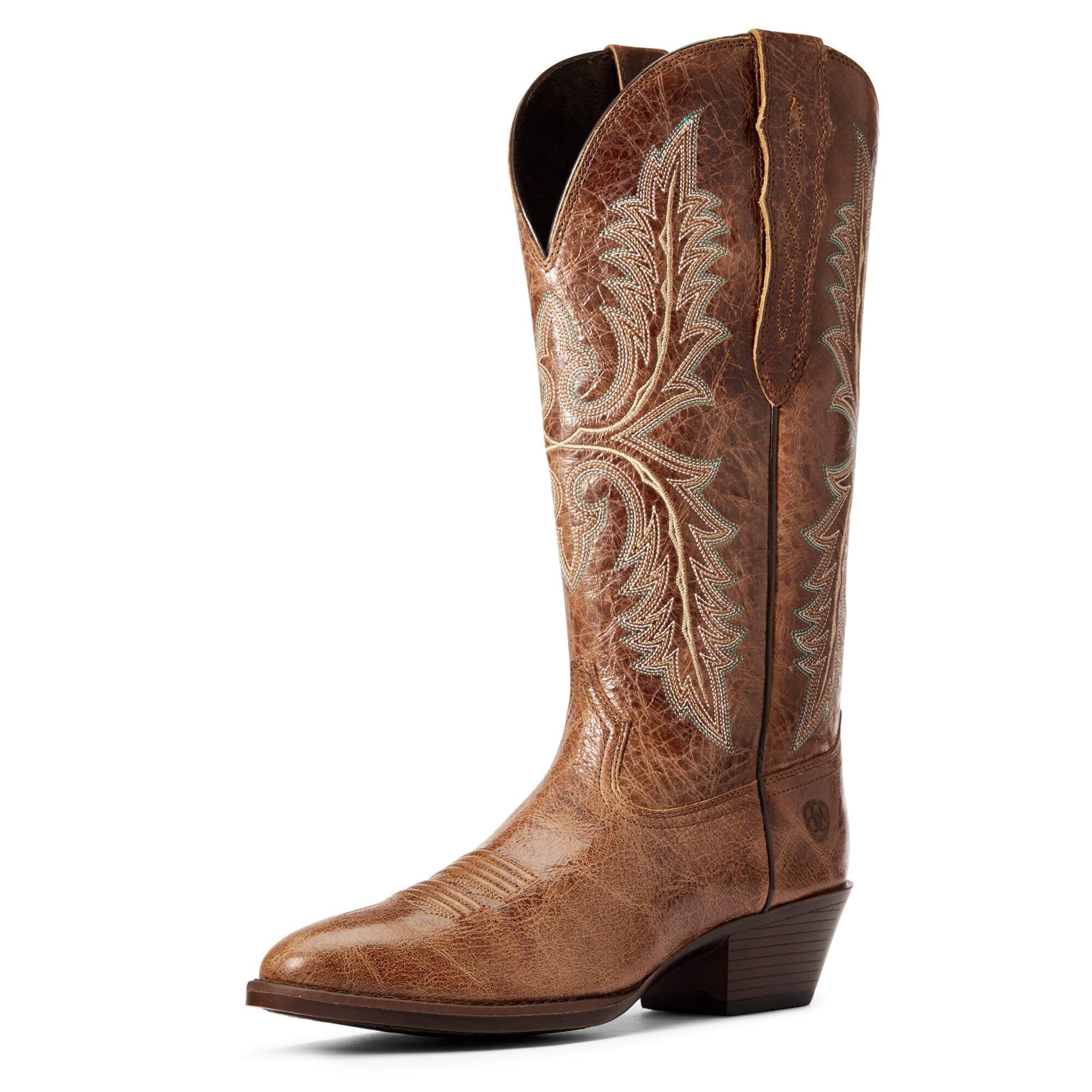 Heritage Elastic Calf Western Boot | Ariat