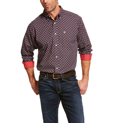 Wrinkle Free Cleaves Classic Fit Shirt