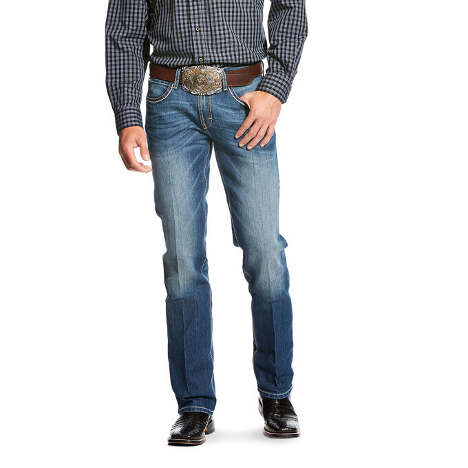Stretch Outpost Stackable Straight Leg Jean