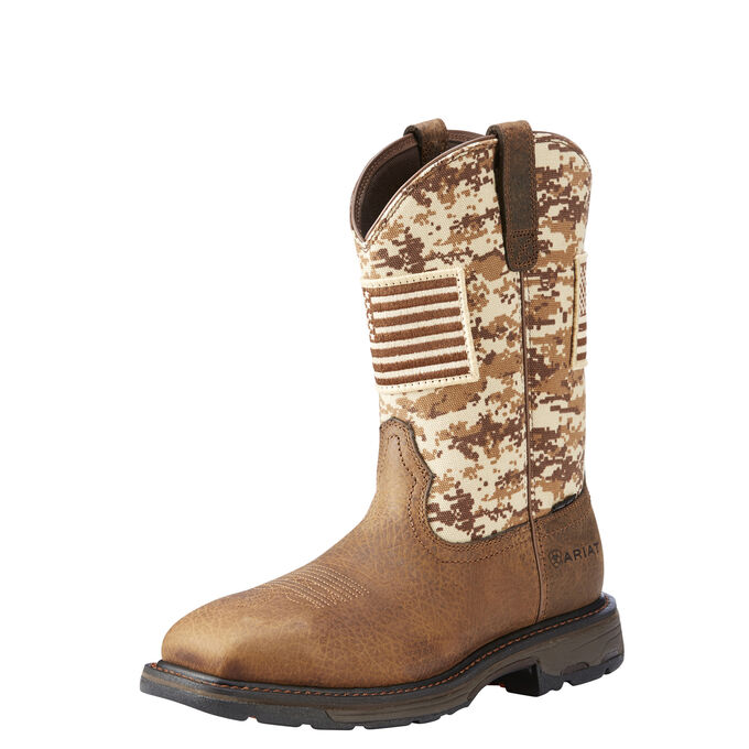 931f7958835 WorkHog Patriot Steel Toe Work Boot