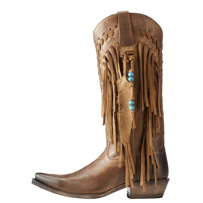 Brisco Fringe Western Boot