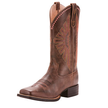 Round Up Rio Western Boot