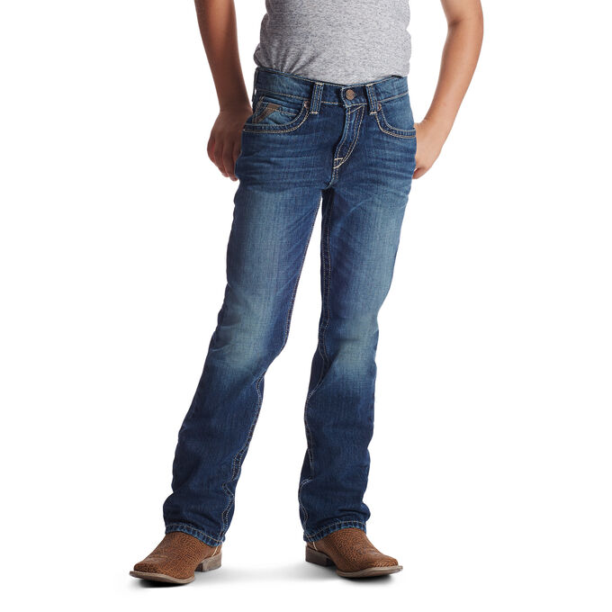 B5 Slim Boundary Stackable Straight Leg Jean