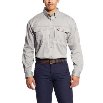 FR Solid Vent Work Shirt