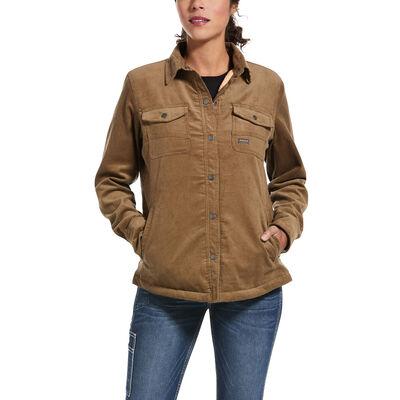 Rebar Sherpa-lined Corduroy Shirt Jacket