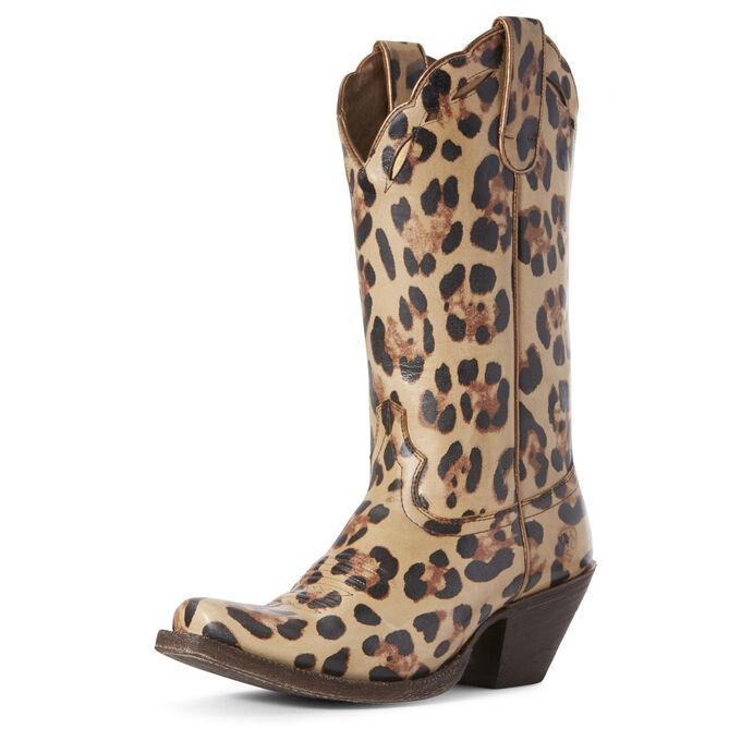 Leopard LaRue Western Boot