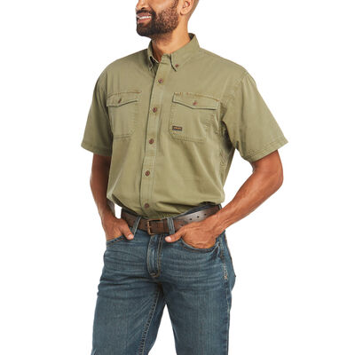 Rebar Washed Twill Work Shirt