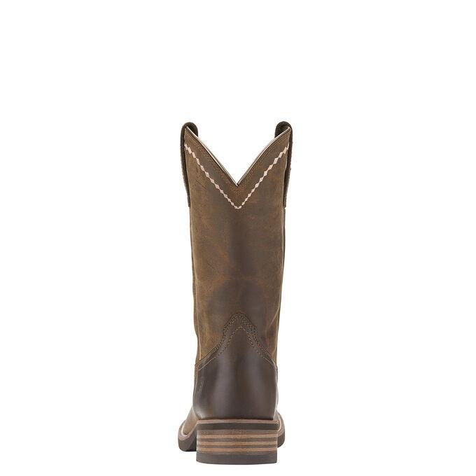 Unbridled Roper Western Boot