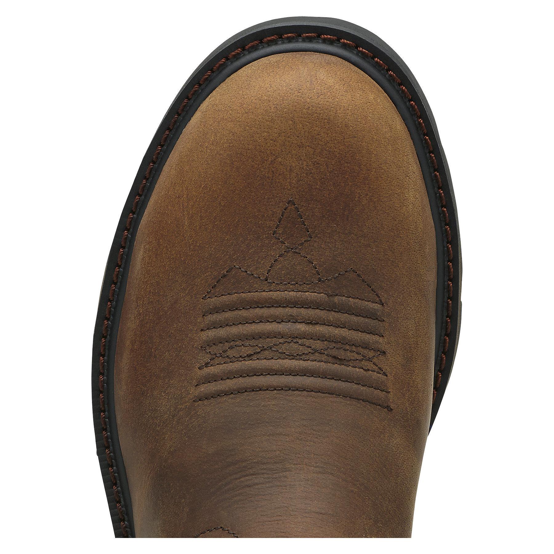 ariat groundbreaker steel toe review