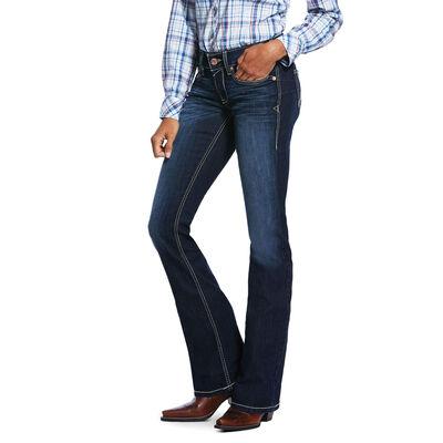 R.E.A.L. Mid Rise Stretch Remi Boot Cut Jean