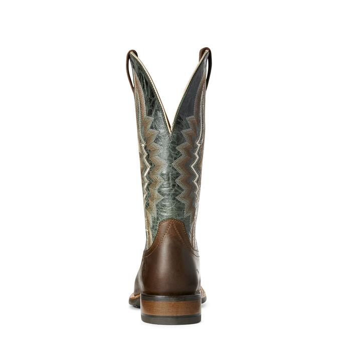 Relentless Short Round Western Boot