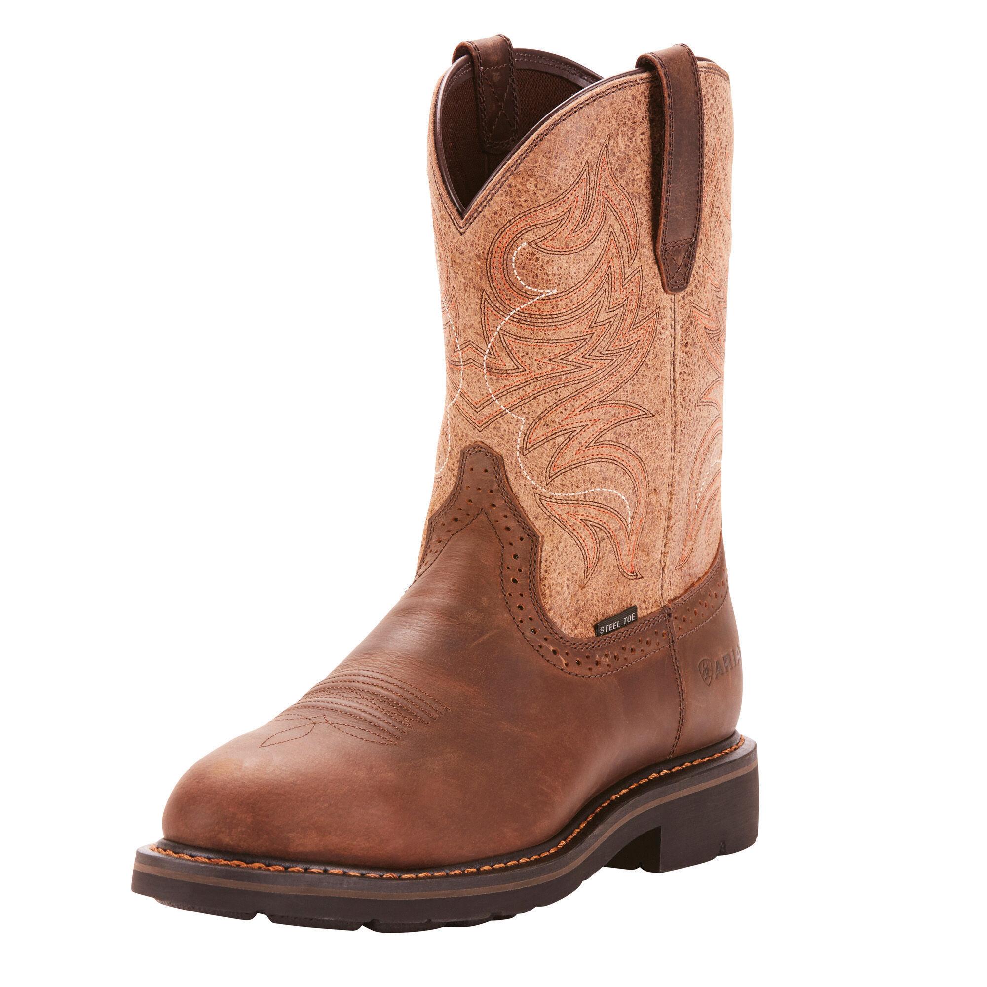 Sierra Shadow Steel Toe Work Boot
