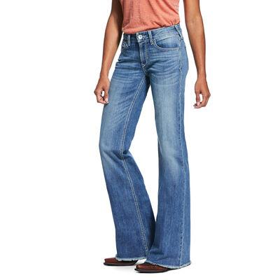 Trouser Perfect Rise Stretch Ella Wide Leg Jean