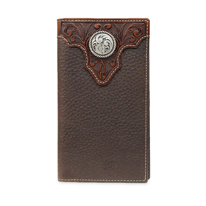 Tooled Overlay Rodeo Wallet