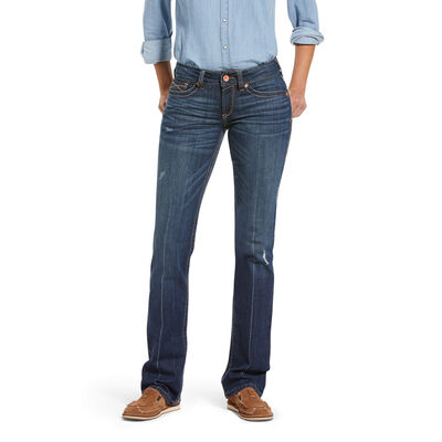 R.E.A.L. Mid Rise Lucy Straight Jean