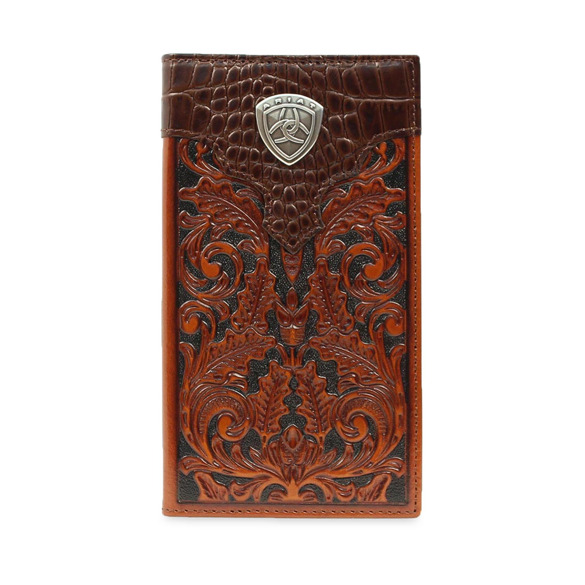 Baldwin Tooled Rodeo Wallet