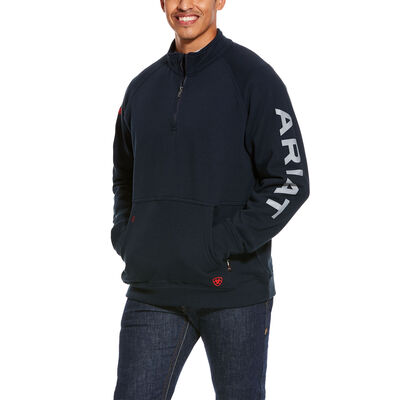 FR Primo Fleece Logo 1/4 Zip Sweater