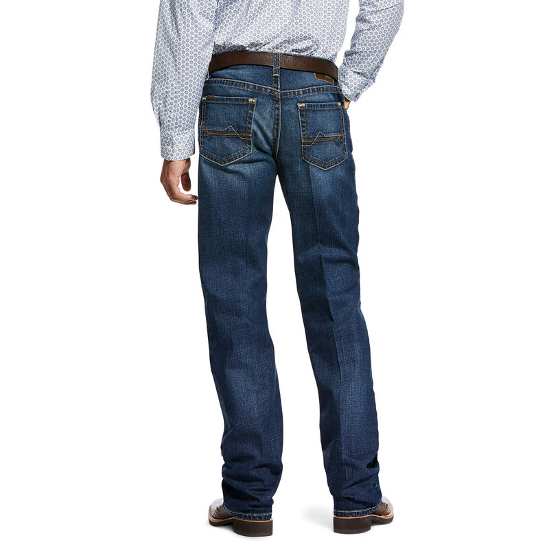 M4 Low Rise Stretch Forest Boot Cut Jean