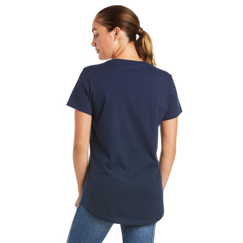 Rebar Cotton Strong V-Neck Top
