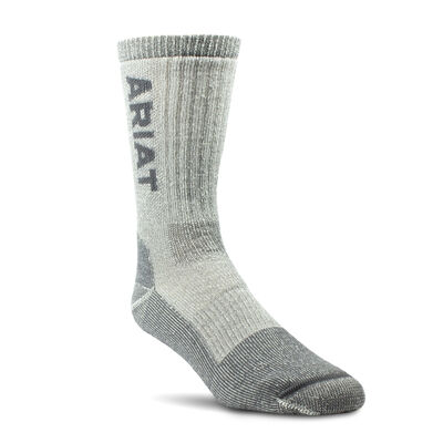 Midweight Merino Wool Blend Steel Toe Work Sock