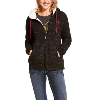 REAL Sherpa Hoodie Full Zip Sweatshirt