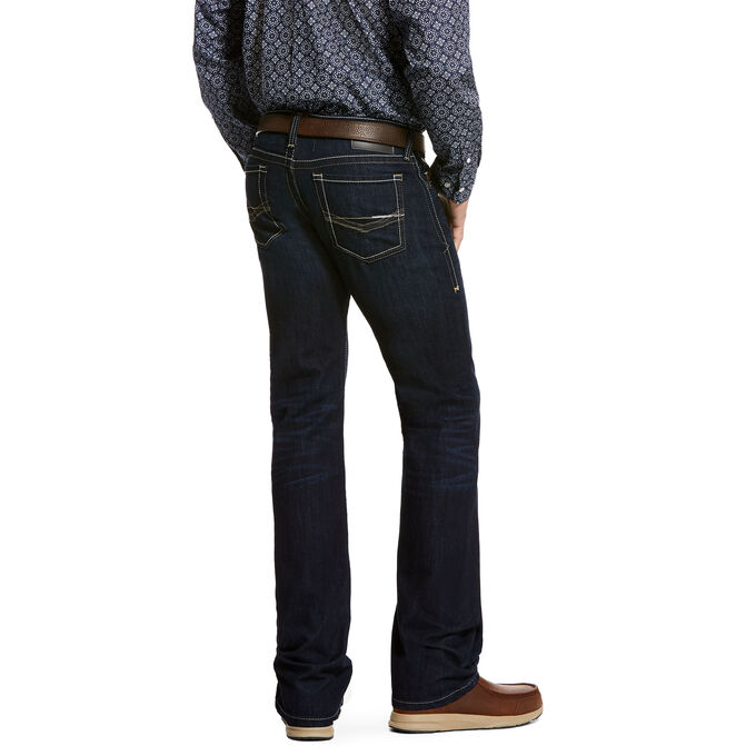 M7 Rocker Stretch Blacksmith Stackable Straight Leg Jean