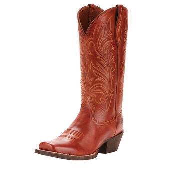 Round Up Stockyards Western Boot