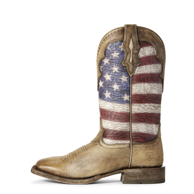 Ranchero Stars and Stripes Western Boot