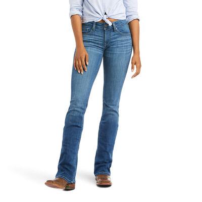 R.E.A.L. Mid Rise Patricia Boot Cut Jean